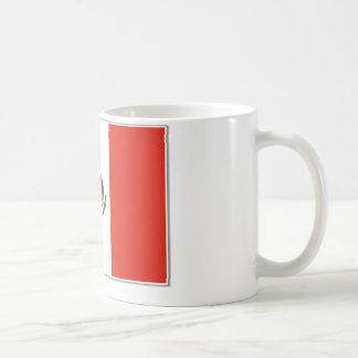 mexico-flag coffee mug