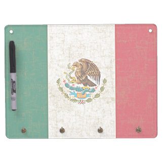 MEXICO FLAG Dry Erase Board
