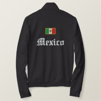 Mexico Flag Embroidered Jacket