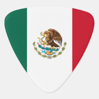 Mexico flag guitar pick for Mexican musicians Pick