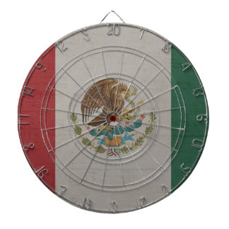 Mexico Flag International Dartboard