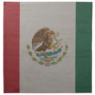 Mexico Flag International Napkin