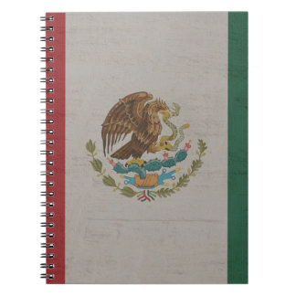 Mexico Flag International Notebook