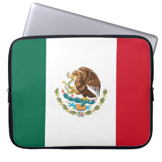Mexico Flag Laptop Sleeve