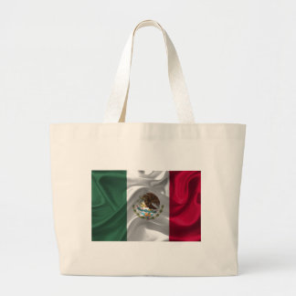 mexico-Flag Large Tote Bag