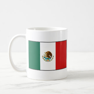Mexico Flag ~ Map Mug