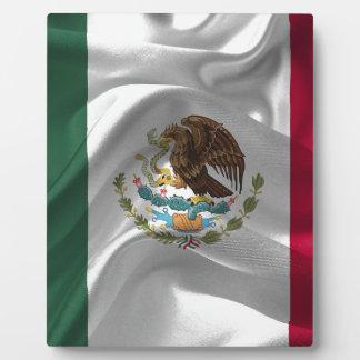 Mexico Flag Mexican Flag Flag Of Mexico Plaque