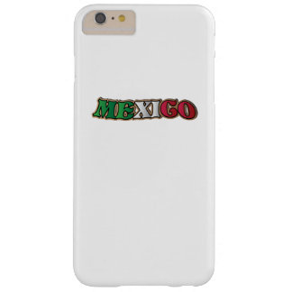 Mexico flag  Mexican Football Love Barely There iPhone 6 Plus Case