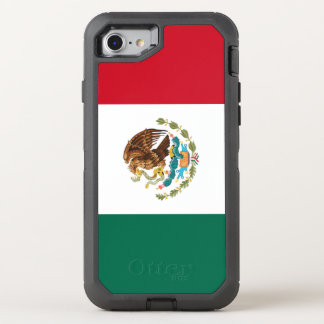Mexico Flag OtterBox Defender iPhone 8/7 Case