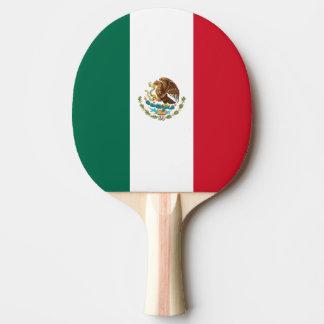 Mexico Flag Ping Pong Paddle