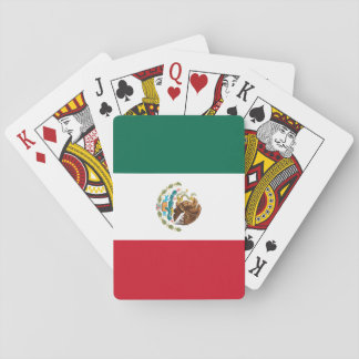 Mexico Flag Playing Cards