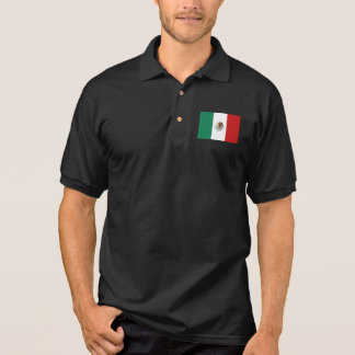 Mexico Flag Polo Shirt