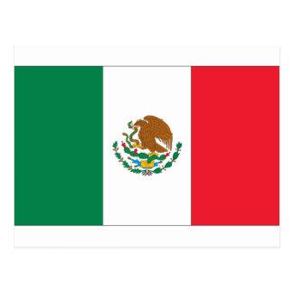 Mexico Flag Postcard