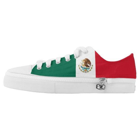 Mexico Flag Printed Shoes