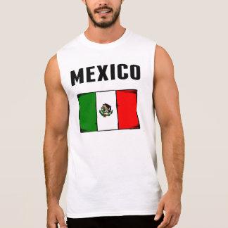 Mexico Flag Sleeveless Shirt