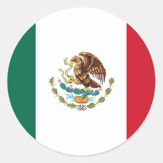 Mexico Flag Stickers