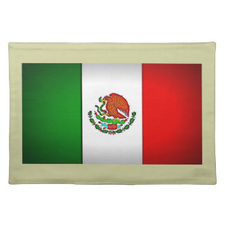 Mexico Flag Stylized Placemats