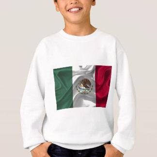 mexico-Flag Sweatshirt