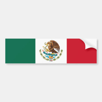 Mexico Flag The MUSEUM Zazzle I Love MY Country Car Bumper Sticker