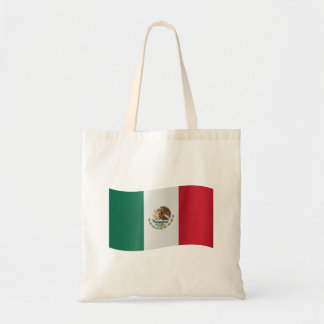 Mexico Flag Tote Bag