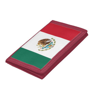 Mexico flag wallet