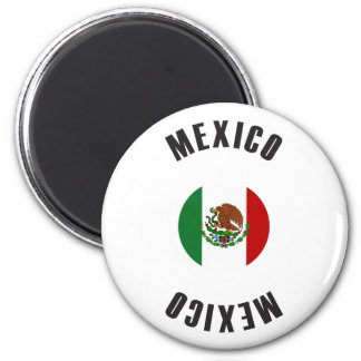 Mexico Flag Wheel Magnet
