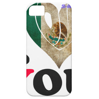 MEXICO FLAGS I LOVE YOU CUSTOMIZABLE PRODUCTS iPhone 5 COVERS