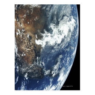 Mexico from Space Postcard