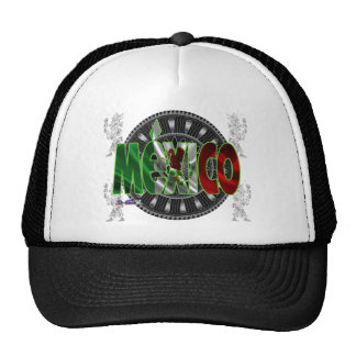 MEXICO GIFTS CUSTOMIZABLE PRODUCTS MESH HATS