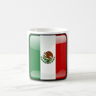 Mexico glossy flag coffee mug