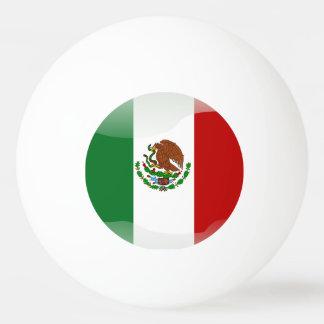 Mexico glossy flag ping pong ball