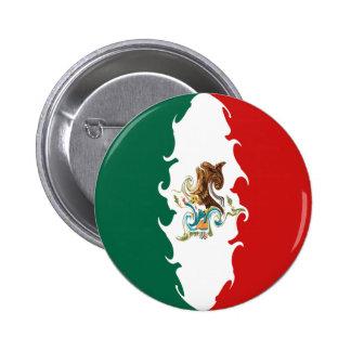 Mexico Gnarly Flag Button