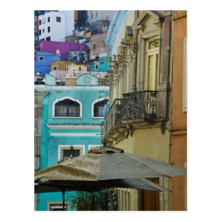 Mexico, Guanajuato. Densely packed assortment of Postcard