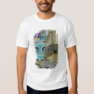 Mexico, Guanajuato. Densely packed assortment of Tshirt