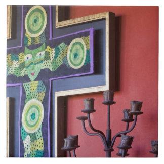 Mexico, Guanajuato state, San Miguel. Casa de la 2 Ceramic Tile