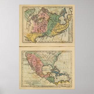 Mexico, Guatemala, WI, North America Poster