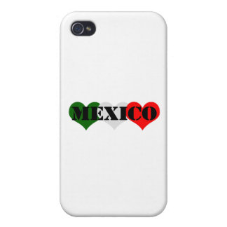 Mexico Heart iPhone 4/4S Cover
