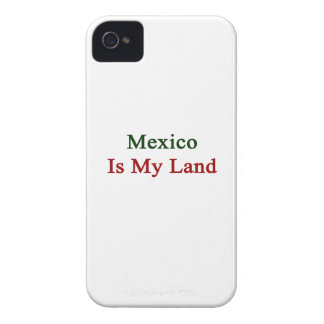 Mexico Is My Land iPhone 4 Cases
