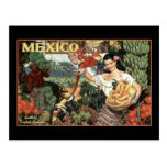 mexico land of tropical splendour post card