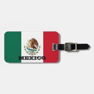 Mexico Luggage Tags