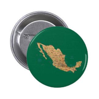 Mexico Map Button