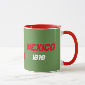 Mexico Map Flag Custom Mug