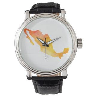 Mexico Map Wrist Watch