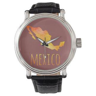 Mexico Map Wristwatch