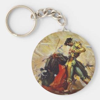 Mexico Matador Basic Round Button Key Ring