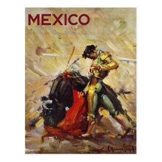 Mexico Matador Postcard