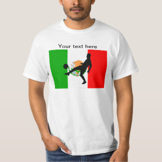 Mexico Mexican Flag Football Soccer Shirt