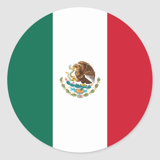 Mexico/Mexican Flag Stickers