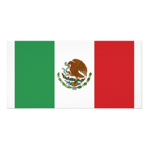 Mexico National Flag Photo Cards