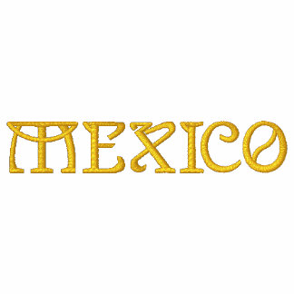 MEXICO Patriotic Embroidered Designer Shirt